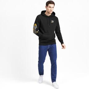 Miniatura 4 de Sudadera con capucha Sakura Pack para hombre, Puma Black, mediano