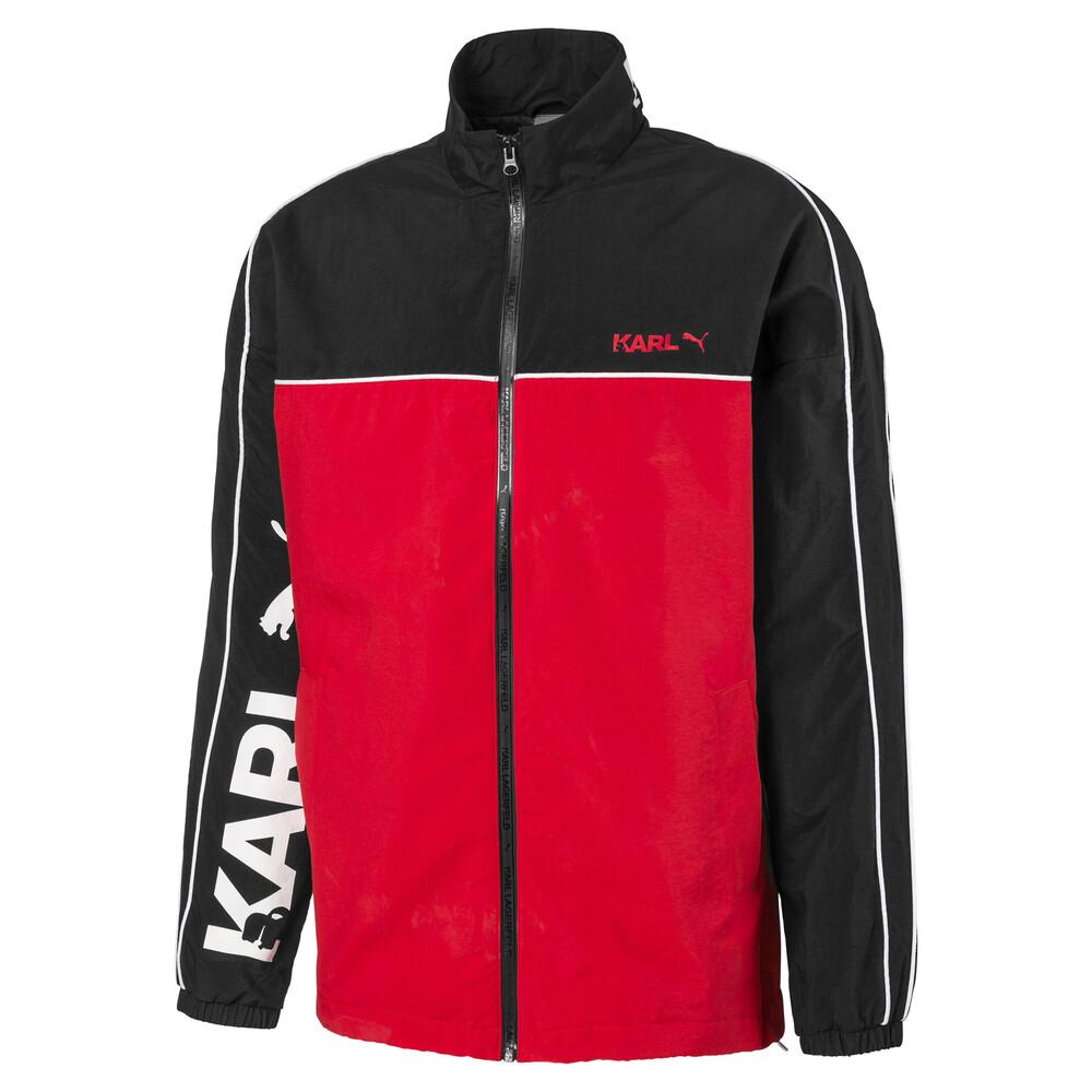 Image Puma PUMA x KARL LAGERFELD Full Zip Men's Track Jacket #1