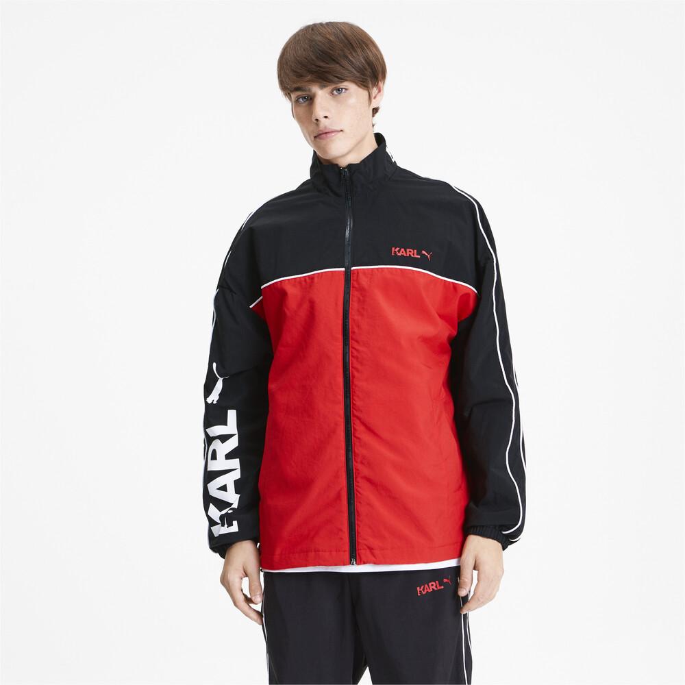 Image PUMA PUMA x KARL LAGERFELD Full Zip Men's Track Jacket #2