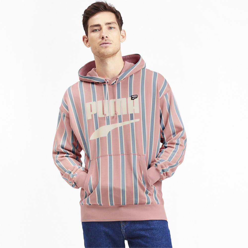 Изображение Puma Толстовка Downtown PO Graphic Hoody #1