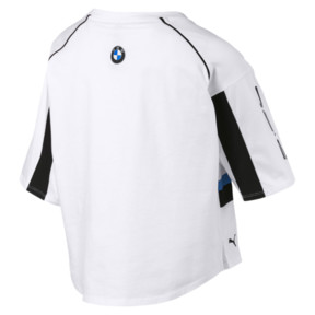 Thumbnail 5 of BMW M Motorsports Women's Street Tee, Puma White, medium