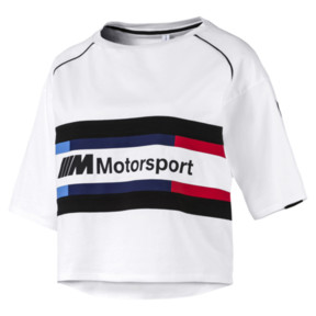 Thumbnail 4 of BMW M Motorsports Women's Street Tee, Puma White, medium