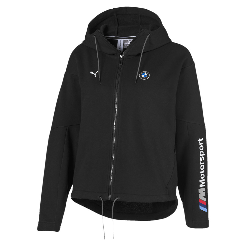 Изображение Puma Толстовка BMW MMS Wmn Sweat Jacket #1