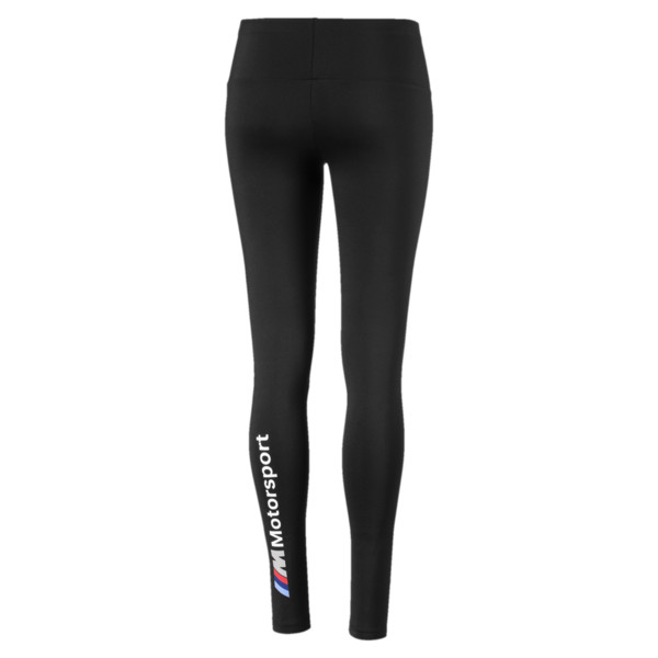 BMW M Motorsports Women's Leggings, Puma Black, large