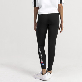 Thumbnail 2 of BMW M Motorsports Women's Leggings, Puma Black, medium