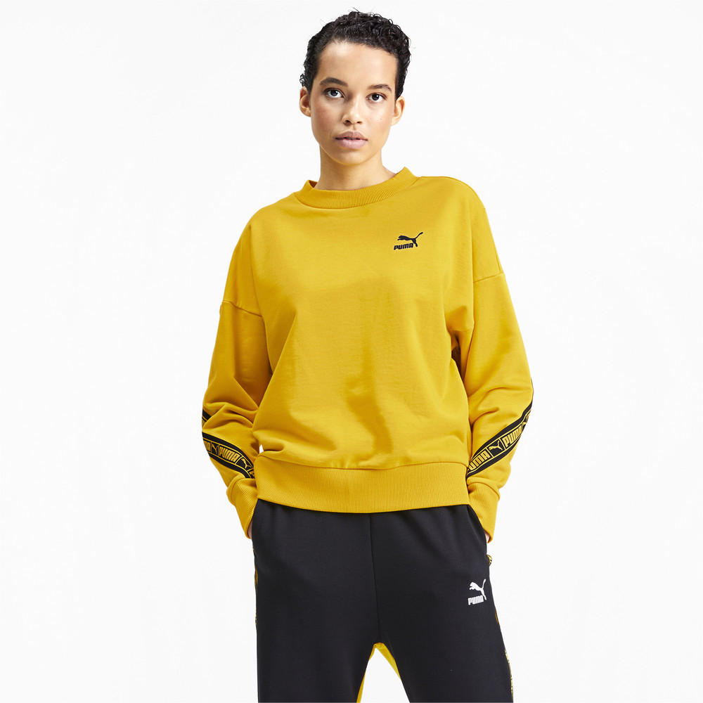 Image Puma Classics TAPE Crew Neck Women's Sweater #2