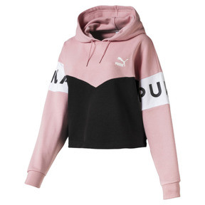 Thumbnail 4 of Sweatshirt à capuche XTG pour femme, Bridal Rose, medium