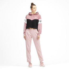 Thumbnail 3 of Sweatshirt à capuche XTG pour femme, Bridal Rose, medium