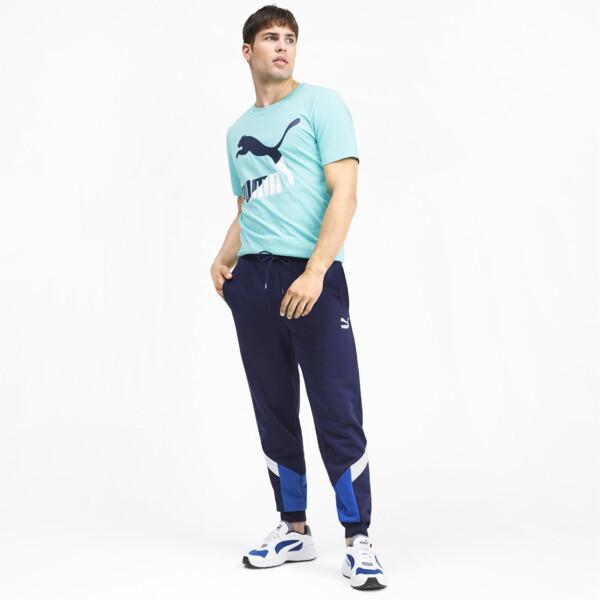 Iconic MCS Men's Track Pants, Peacoat, large