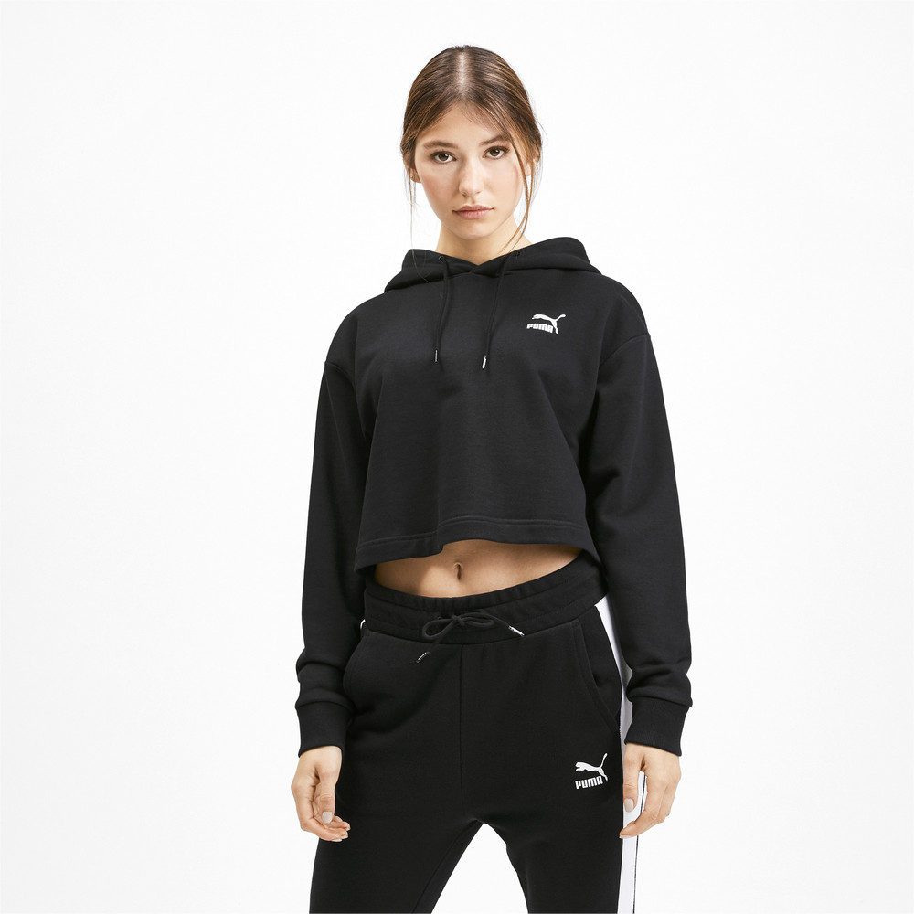 Image Puma Claw Cropped Women's Hoodie #2