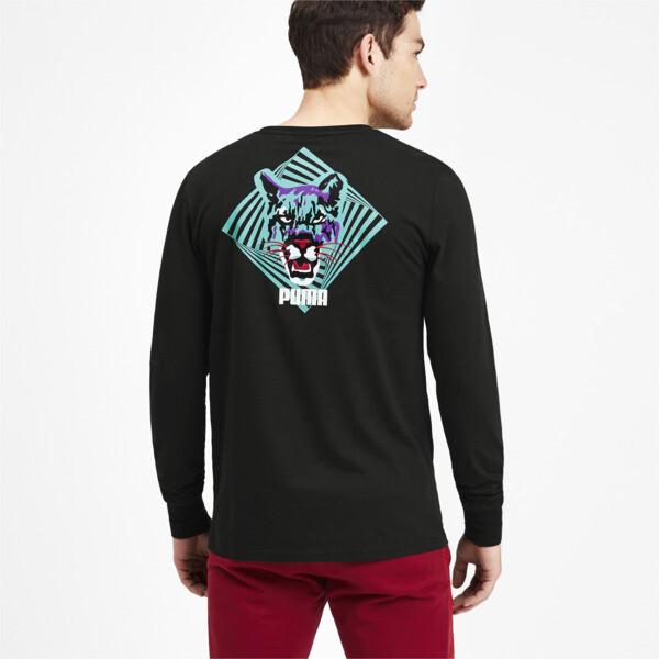 Camiseta Claw Pack de mangas largas para hombre, Puma Black, grande