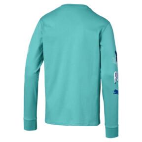 Miniatura 5 de Camiseta Claw Pack de mangas largas para hombre, Blue Turquoise, mediano