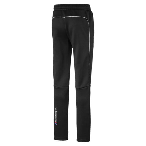 Pantalones deportivosBMW M MotorsportT7 para niño joven, Puma Black, grande