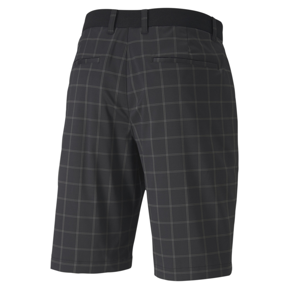 Image Puma Plaid Men's Golf Shorts #2