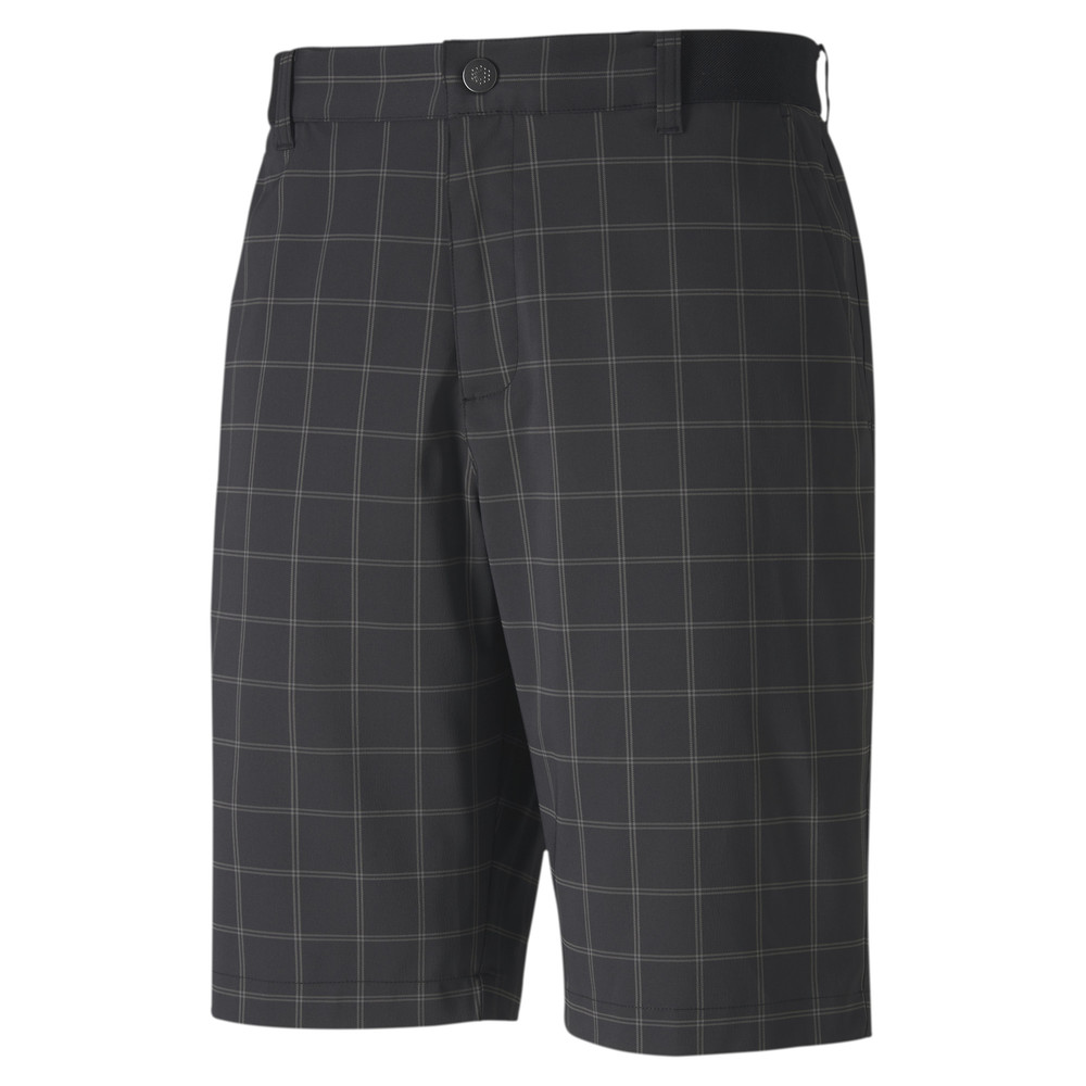 Image Puma Plaid Men's Golf Shorts #1