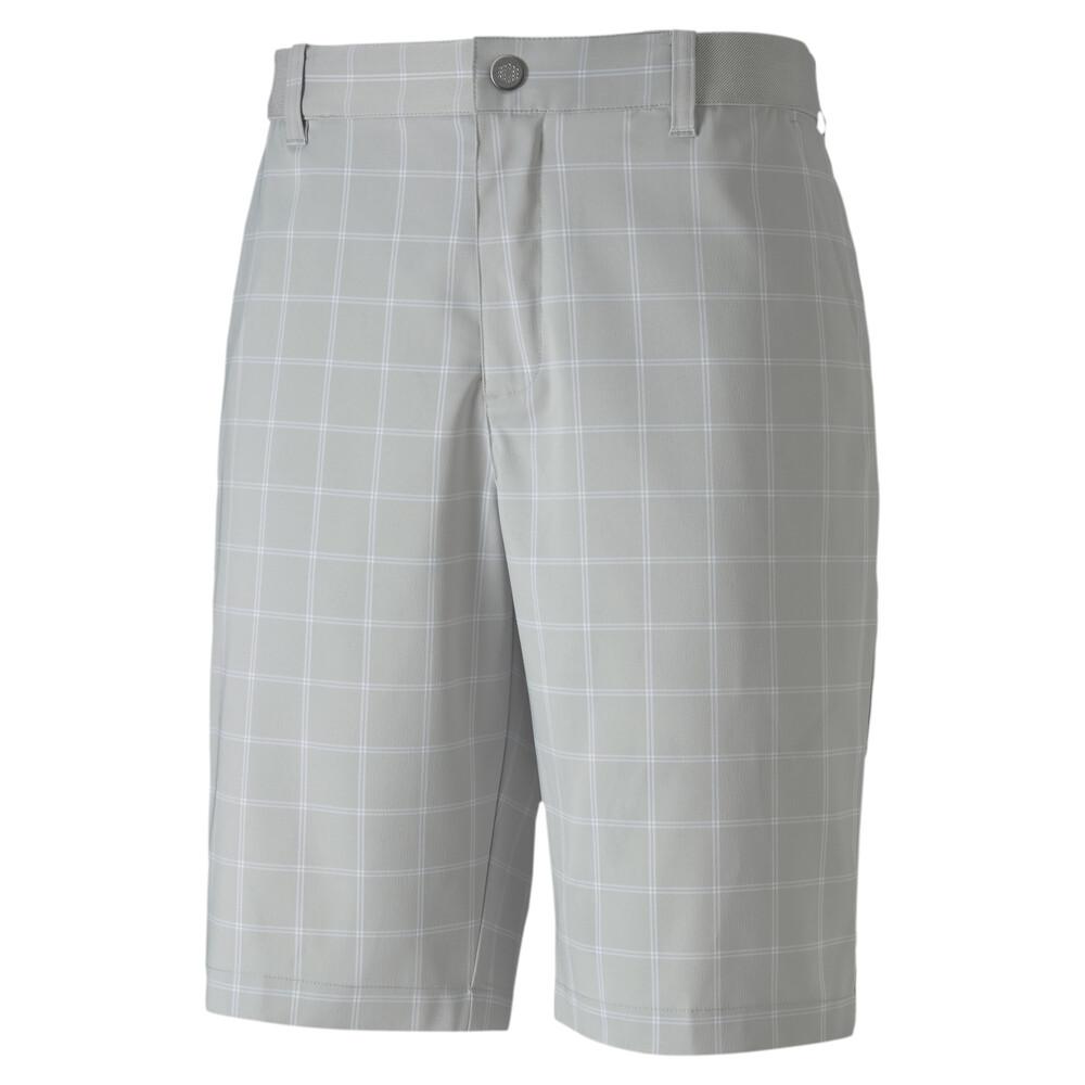 Image Puma Plaid Men's Golf Shorts #1