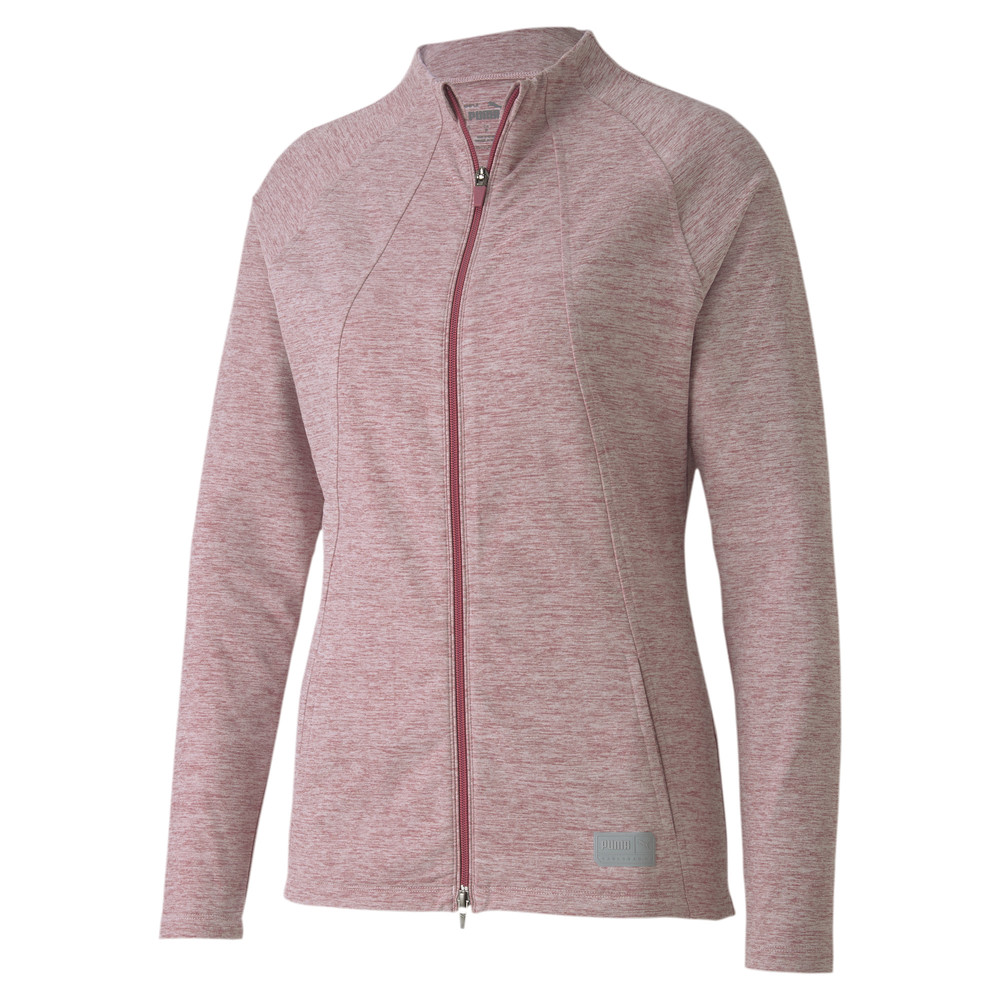 Image Puma Cloudspun Warm Up Women's Golf Jacket #1