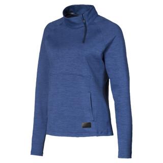 Image Puma Warm Up Quarter Zip Women's Golf Sweater