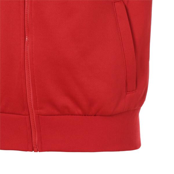 ICONIC MCS トラックジャケット, High Risk Red, large-JPN