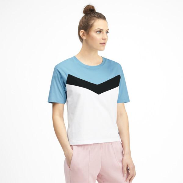 プーマ XTG ウィメンズ CB SS Tシャツ (半袖), Puma White, large-JPN
