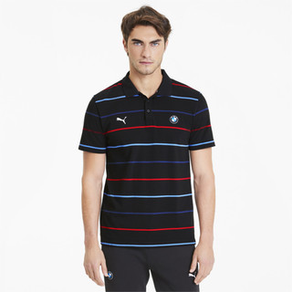 Image Puma BMW M Motorsport Striped Men's Polo