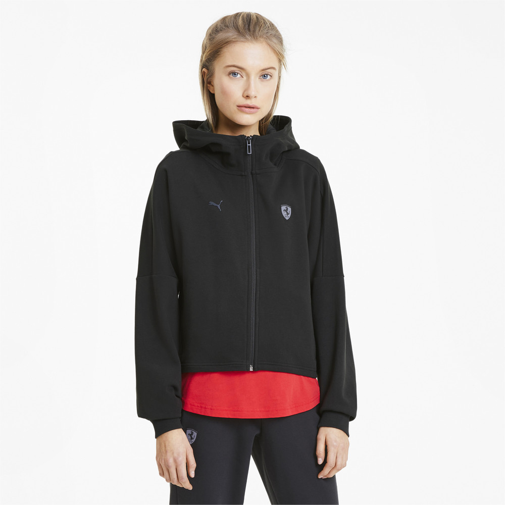 Толстовка Ferrari Wmn Hooded Sweat Jkt фото