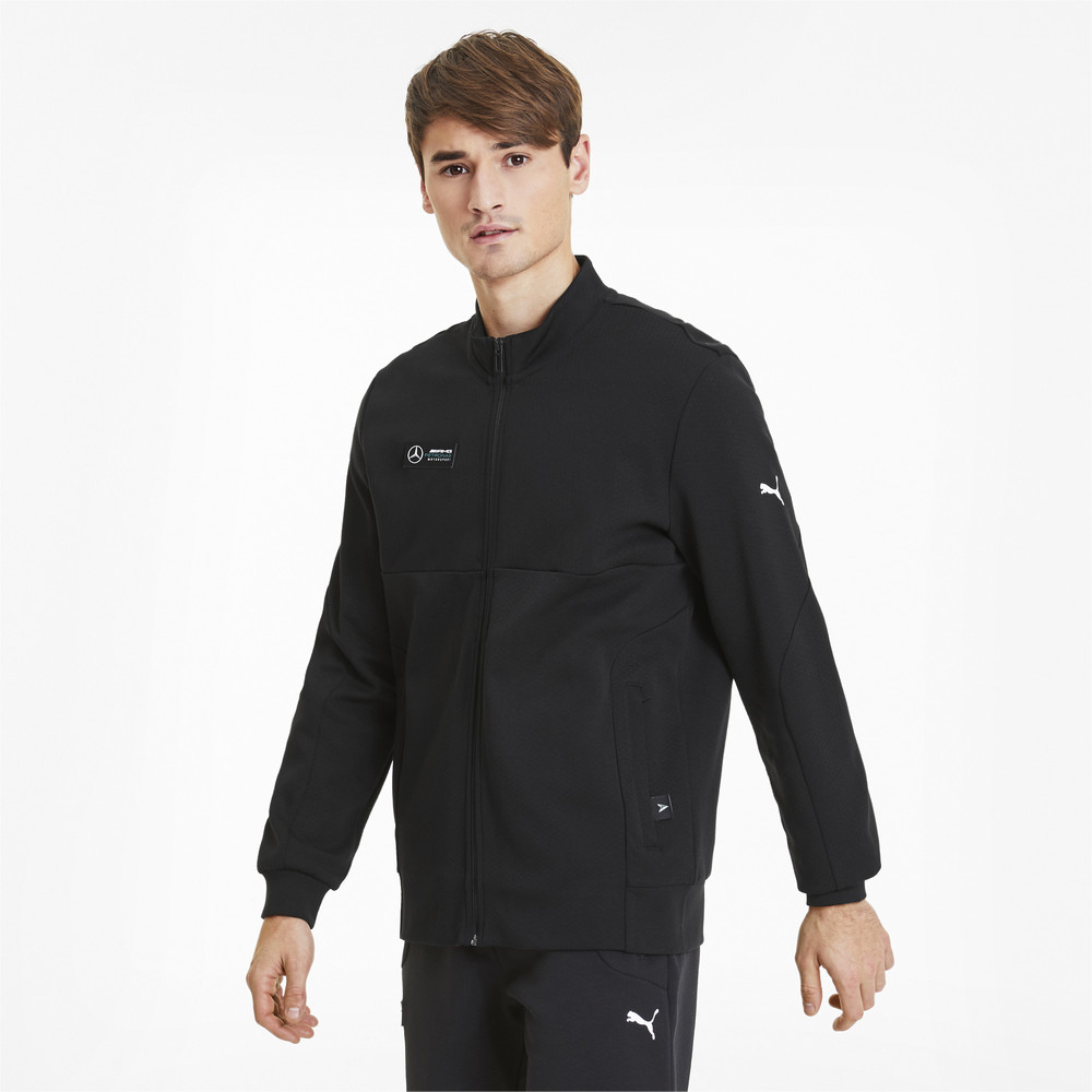 Image Puma Mercedes Men's Sweat Jacket #1