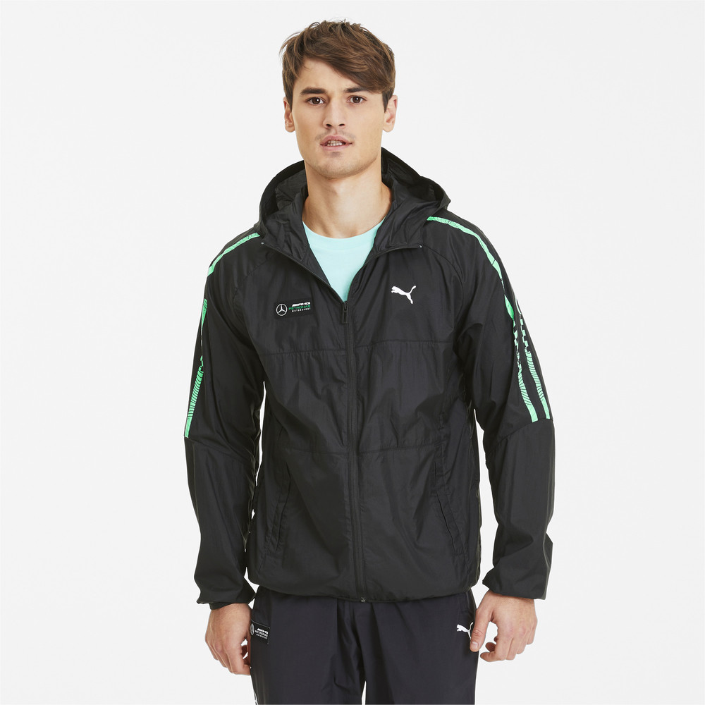 Image Puma Mercedes T7 City Runner Men's Jacket #1