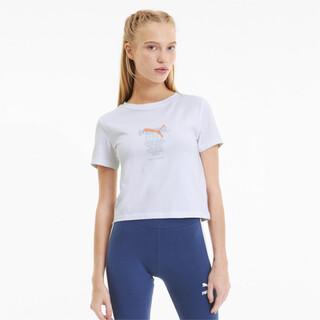 Görüntü Puma TAILORED FOR SPORT Kısa Kesim Kadın T-Shirt