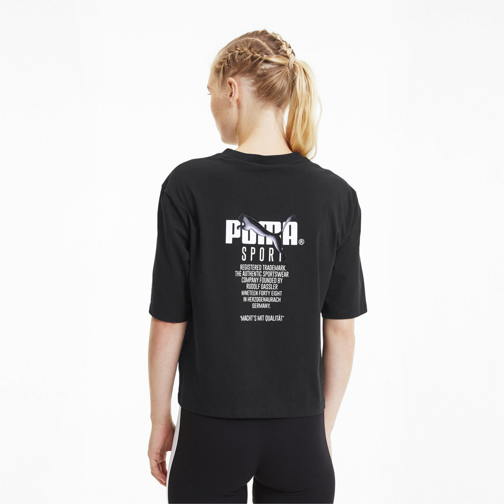 Image PUMA Tailored For Sport Graphic Women's Tee #2