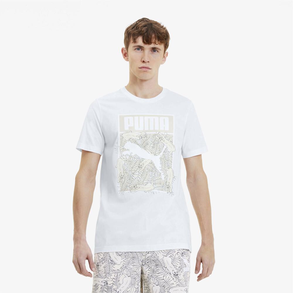 Image PUMA Camiseta PUMA Logo Fill Masculina #1