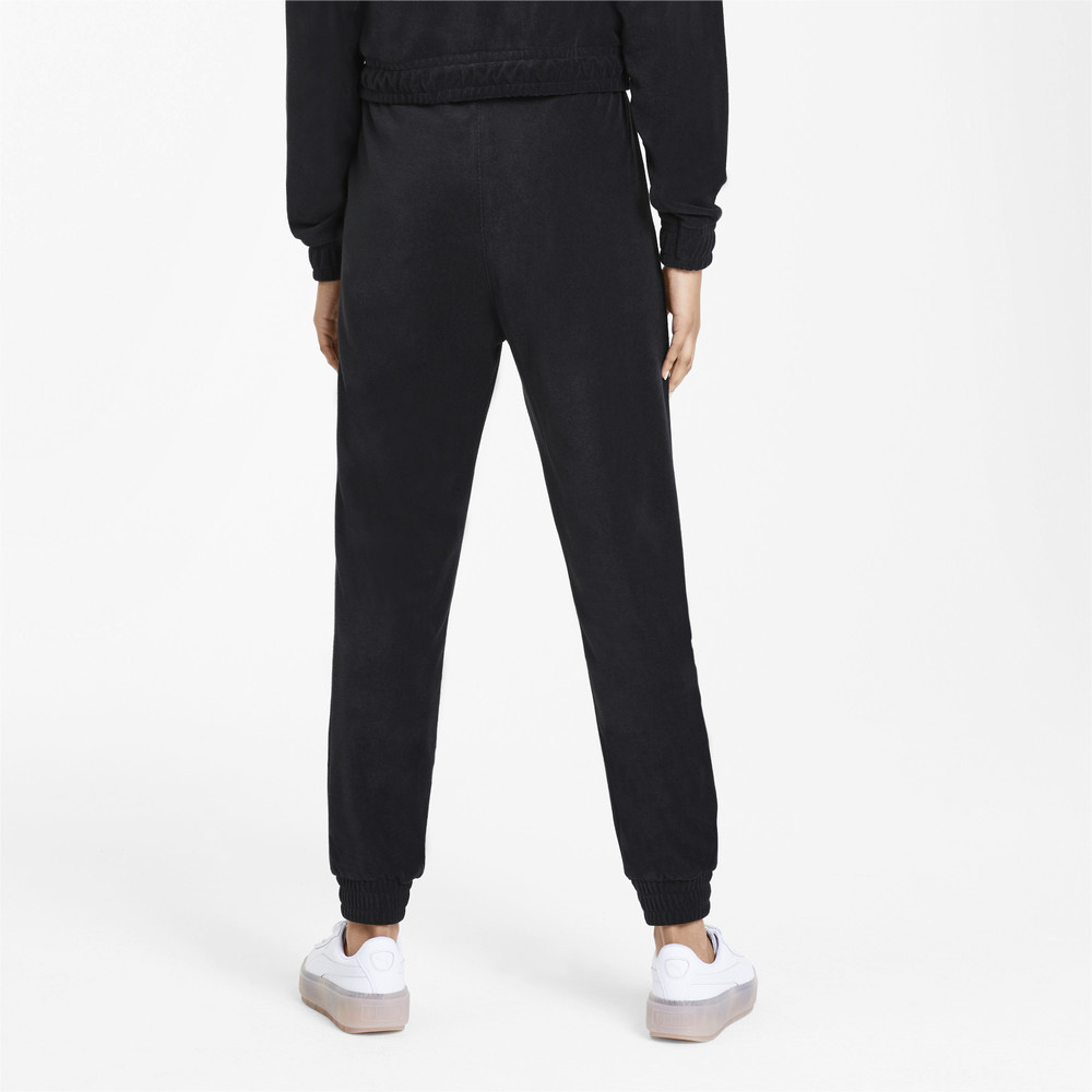 Image Puma Downtown Tapered Women's Sweatpants #2
