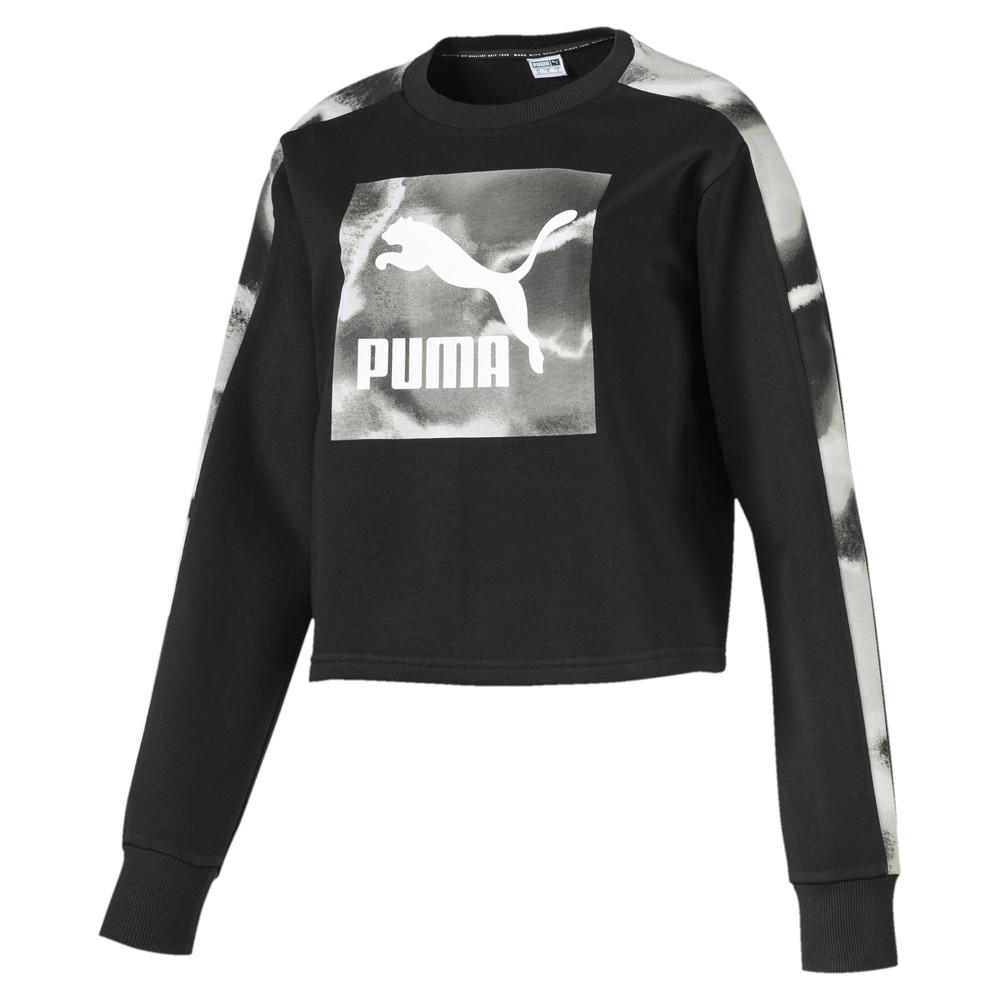 Image PUMA Cloud Pack Long Sleeve Women's Sweater #1