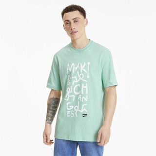 Görüntü Puma Downtown Desenli Erkek T-Shirt