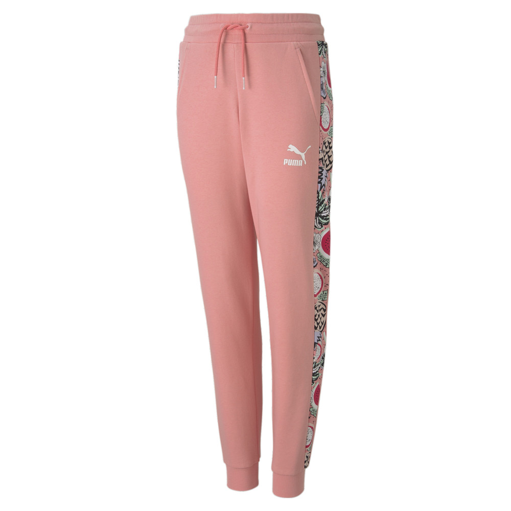 Изображение Puma Детские штаны Classics Fruit Sweat Pants #1