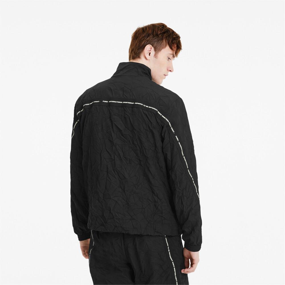 Куртки и ветровки, PUMA - male - Олимпийка Avenir Woven Track Top – Puma Black – M  - купить со скидкой