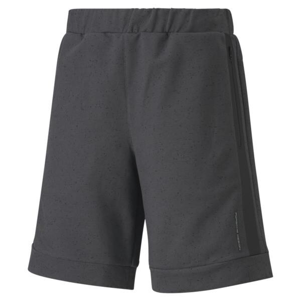 puma porsche design men's sweat shorts in asphalt grey, size s
