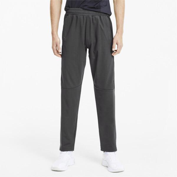 puma porsche design men's t7 track pants in asphalt grey, size m
