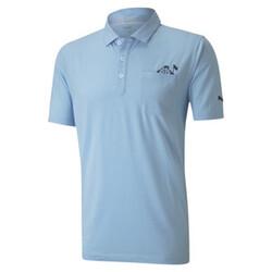 Slow Play Pocket Men's Golf Polo Shirt
