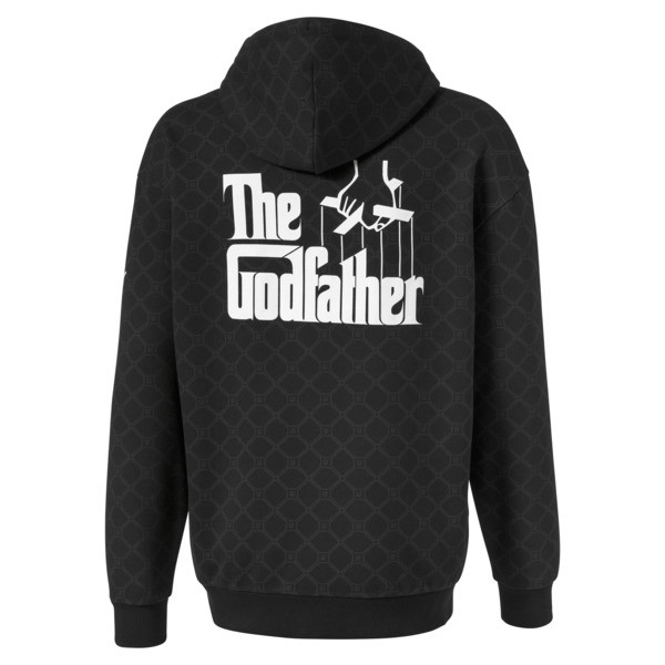 Sweatshirt à capuche PUMA x THE GODFATHER pour homme, Puma Black, large
