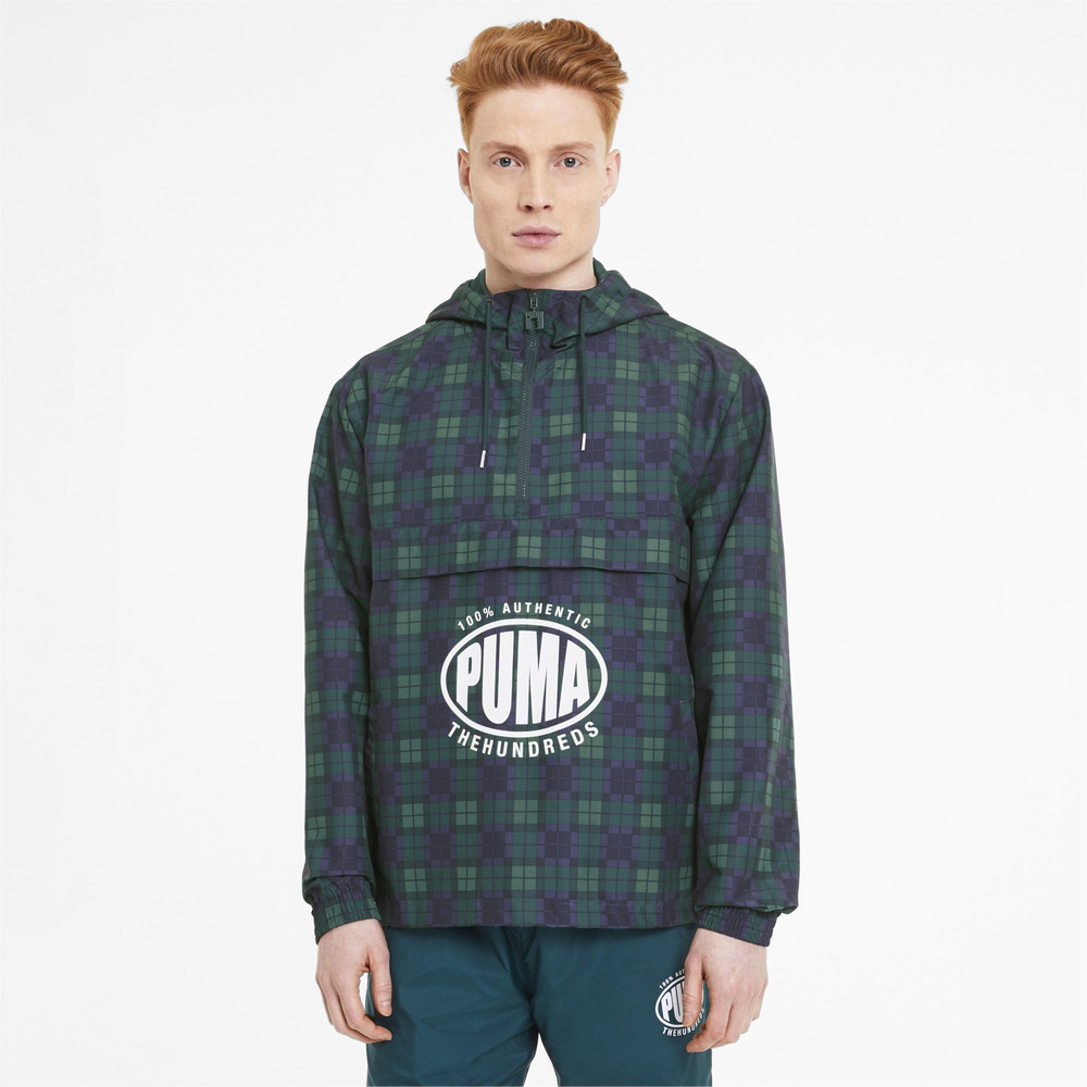 Image PUMA PUMA x THE HUNDREDS Men's Windbreaker #1