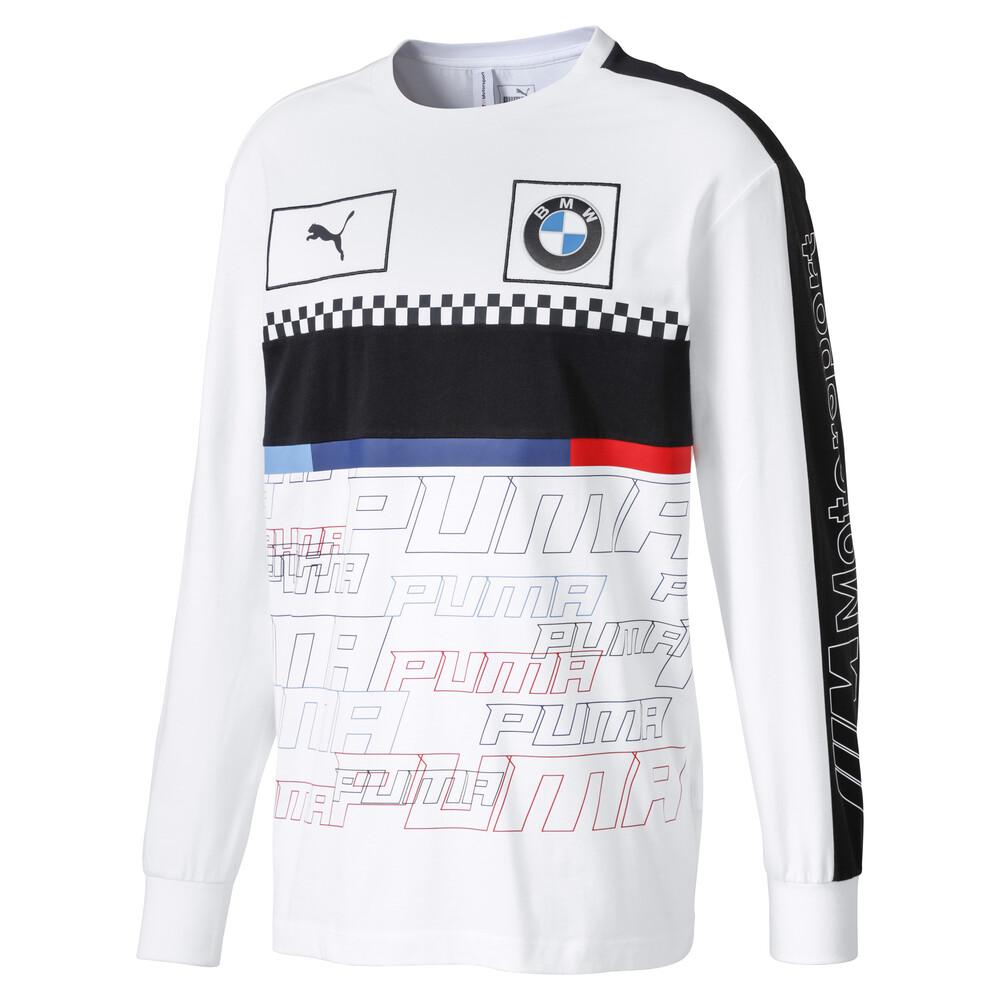 Image Puma BMW M Motorsport Long Sleeve Men's Tee #1