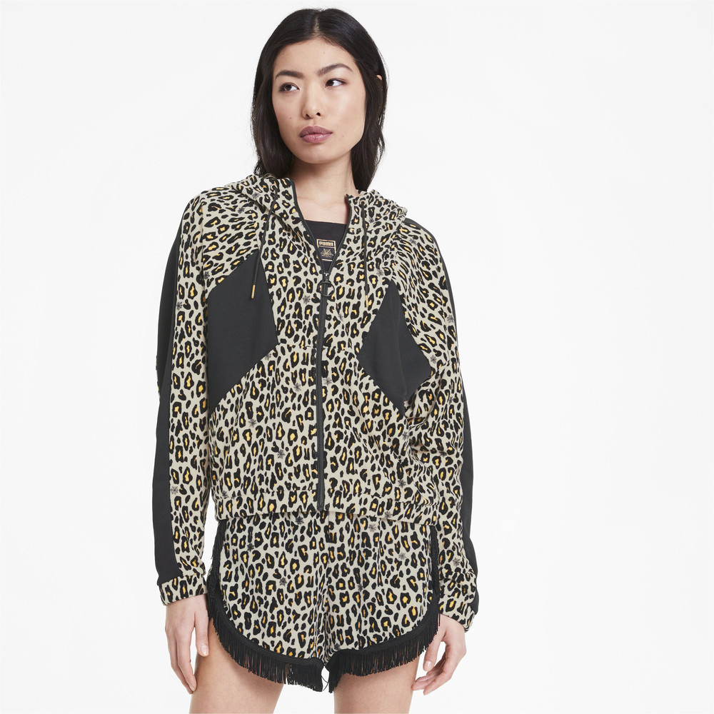 Image Puma PUMA x CHARLOTTE OLYMPIA Tailored for Sport AOP Women's Track Jacket #1