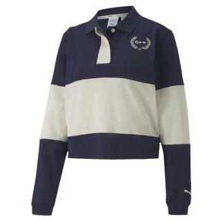 Image PUMA PUMA x SELENA GOMEZ Long Sleeve Rugby Women's Polo Shirt