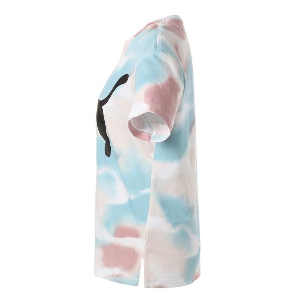 CLOUD パック ウィメンズ AOP Tシャツ, Bridal Rose-AOP, large-JPN