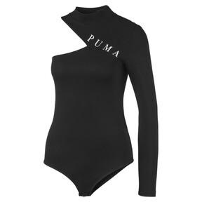 Thumbnail 2 of Cold Shoulder Damen Bodysuit, Puma Black, medium