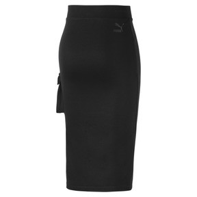 Thumbnail 4 of Midi Women's Skirt, Puma Black, medium