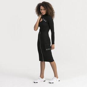Thumbnail 1 of Midi Women's Skirt, Puma Black, medium