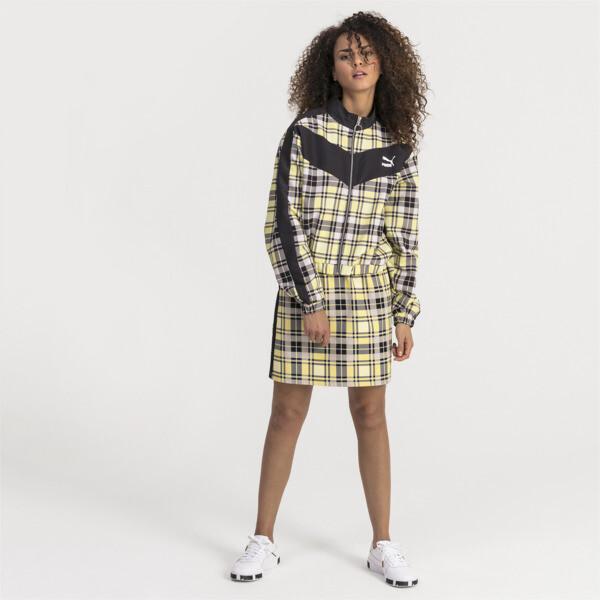 Check Damen Gewebte Jacke | Yellow Cream | PUMA Shoes | PUMA