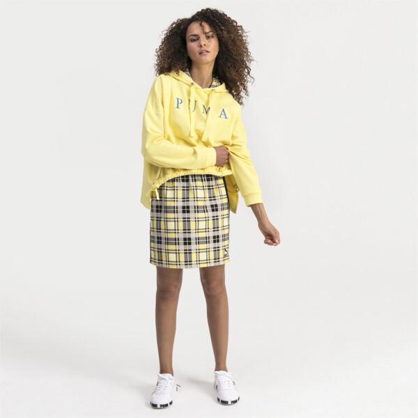 Women's Hoodie, Yellow Cream, large